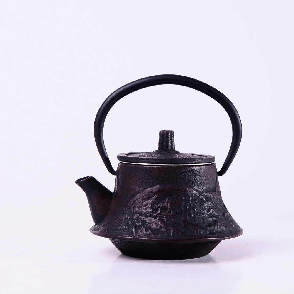 St Scenery iron kettle Japanese iron pot cast iron teapot tea Kung Fu Tea Specials 200ML