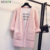Mujeres Long Cardigan Con Agujeros Suéter Del Invierno Del Otoño Mujer 2016 de Punto de Manga Larga chaqueta de Punto Gilet Femme Manche Longue Más Tamaño