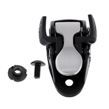 Inline Skating Spider Buckle Roller Skate Boot Clasp with Screw Nut Black(China)