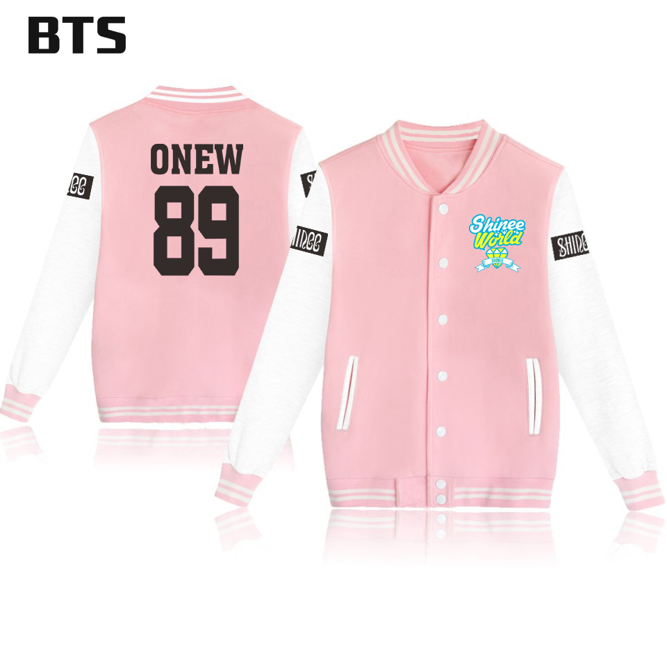 BTS Shinee Jonghyun Korean Kpop Winter Jacket Women Plus Size Fashion Ladies Female Harajuku Casual Streetwear Jacket Women 4xl 4