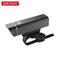 Gaciron MTB Road Bike USB Rechargeable Bicycle LED Front Light IPX6 Waterproof Flashlight Torch Headlight Cycling