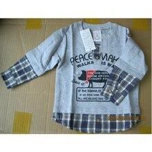Marca de Los Muchachos Camisetas Niños ropa blusas de la camiseta de los muchachos muchacho de los niños de Moda sudadera