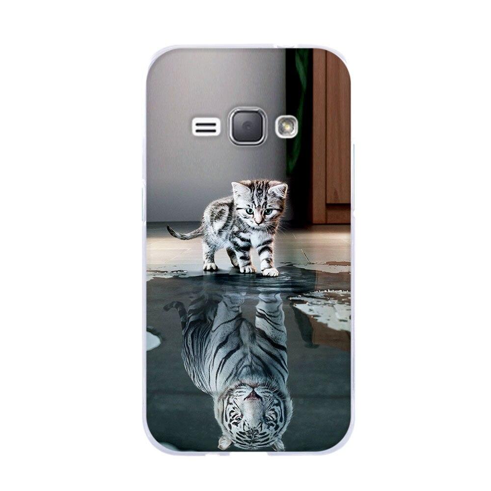 Tas Untuk Samsung Galaxy J1 J3 J5 2016 J120F Kasus Lembut TPU Funda - Aksesori dan suku cadang ponsel - Foto 2