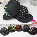 2016 прохладный дети бейсболки альтернативные заклепки хип-хоп кепка snapback головные уборы для мальчиков девушки кепка родитель - ребенок шапки
