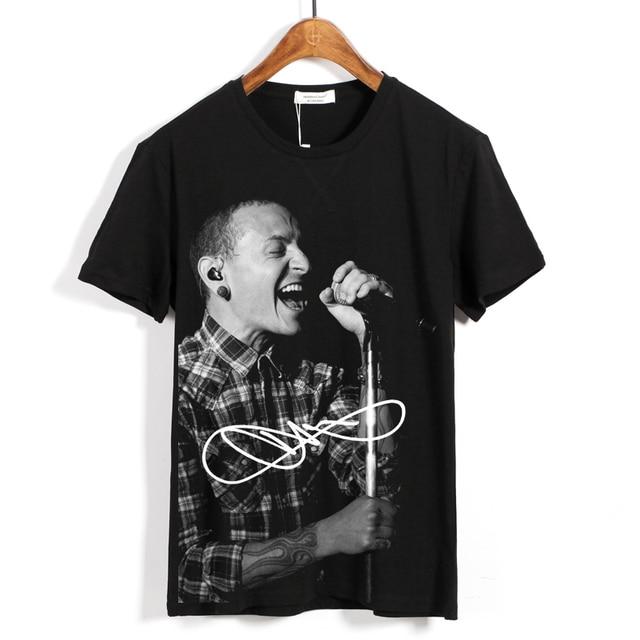 a740074b 5 designs Chester Bennington Linkin Park Rock Brand 3D shirt fitness  Hardrock new Metal skateboard camiseta ropa Streetwear