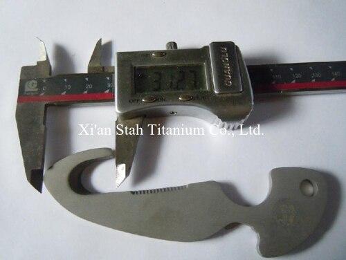 Титан ti сплава Дайвинг Ножи линия резак погружения Ножи для шашлыков нержавеющие антикоррозионные 180 г/шт. - 2