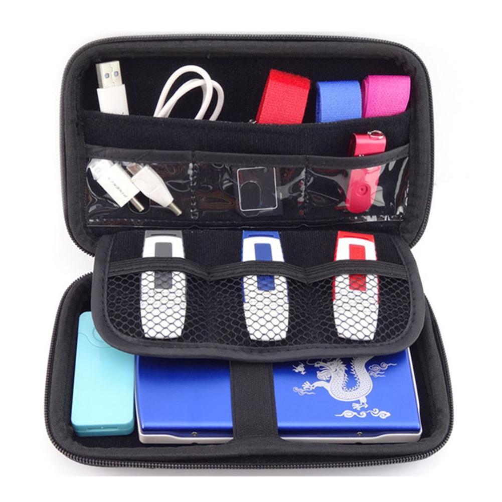 USB Drive Organizer Electronics Accessories Case / Hard Drive Bag USB Flash Drive Case Bag
