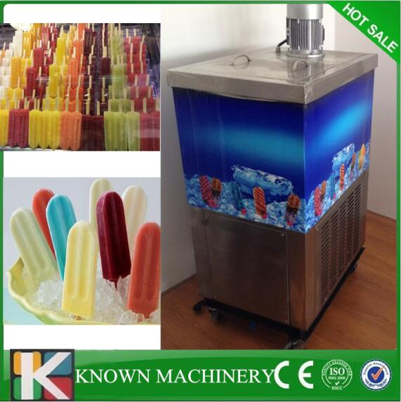 Easy To Operate Stainless Steel Shape Moulds For Your Choice Single Mold Ice Cream Yogurt Popsicle Machine