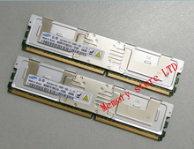 Server memory For Samsung 4GB 2GB 8GB 16GB DDR2 667MHz PC2-5300F 4G 8G 2Rx4 FBD ECC FB-DIMM RAM (desktop PC can not be used)