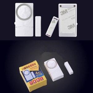 Image 5 - Magnetico senza fili del Portello del Sensore di Allarme Porta e la Finestra Aperta Vicino Promemoria di Allarme Kit per il Supermercato Negozio Frigorifero