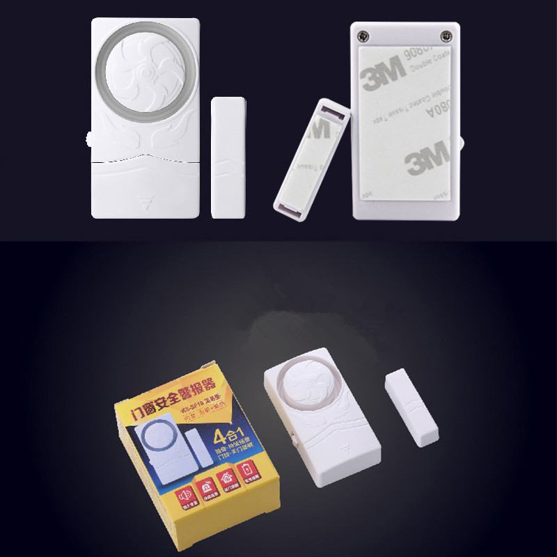 Image 4 - Wireless Door Magnetic Sensor Alarm Door and Window Open Close Reminder Alarm Kit for Supermarket Convenience Store Refrigerator-in Sensor & Detector from Security & Protection