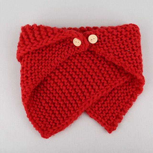 ceae8910d5d13 Baby Burp Cloths Winter Scarf for Children Fashion Wild Knitting Buttons  Warm Collar Scarves Boy Bibs Baby Girls Bibs Unisex