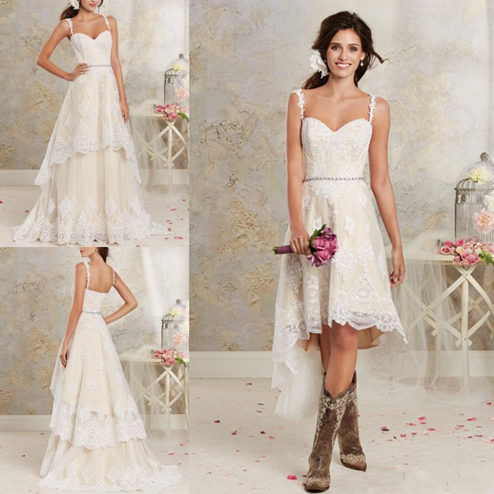 Short Wedding Dress Styles