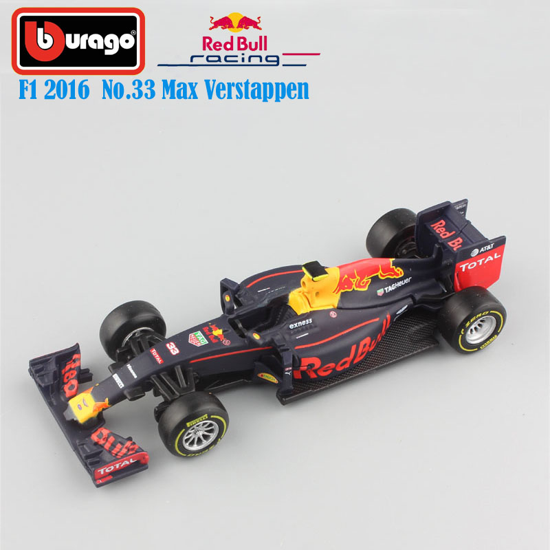 1:43 Scale 2016 children metal diecast F1 formula 1 Red Bull Racing TAG Henuer RB12 No.33 Max Verstappen cars styling model toys pepe jeans red bull racing f1 g15100839929