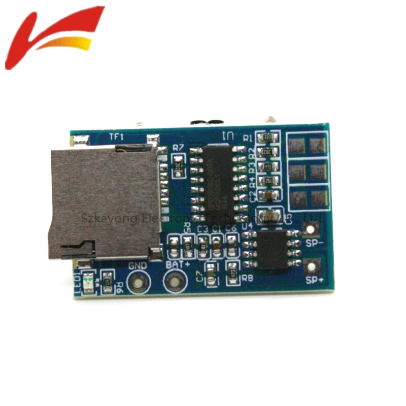 Devoted Tzt Gpd2846a Tf Card Mp3 Decoder Board 2w Amplifier Module For Arduino Gm Power Supply Module Active Components