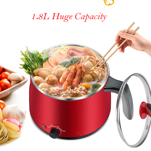 Image 3 - Multi Household Cookers 220V 1.5L Student Dormitory Cooking Noodle Pot Small 600w Electric Skillet 1 2 Person