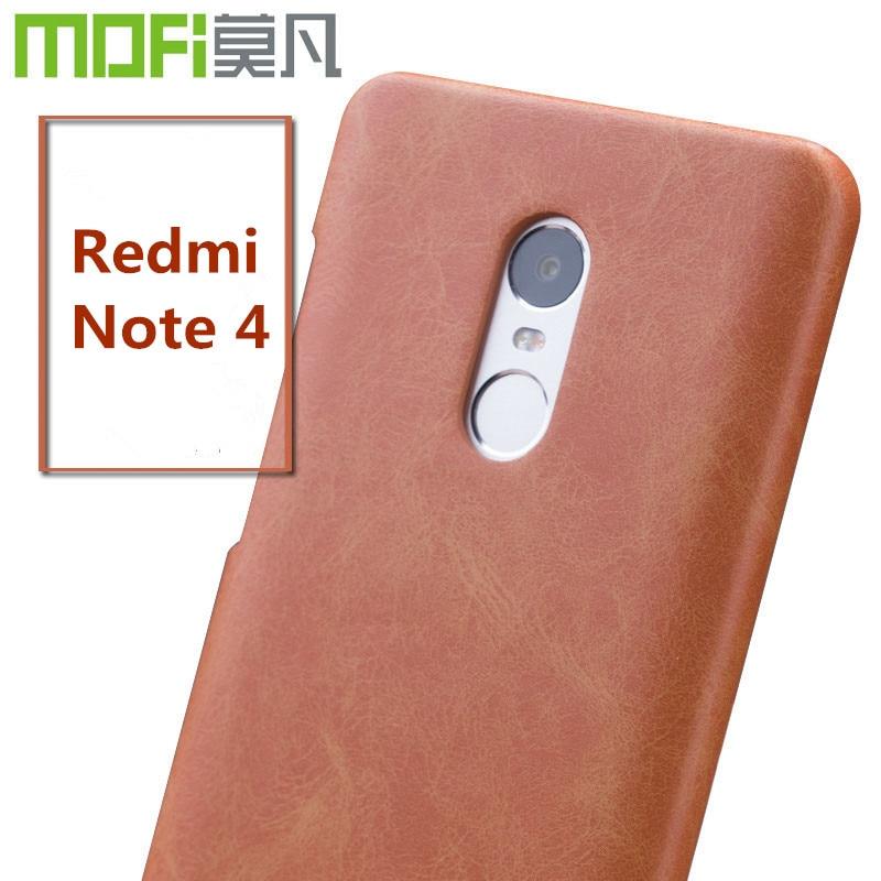 Xiaomi redmi note 4 pro case cover mofi original redmi for Housse xiaomi redmi note 4
