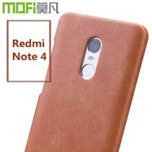 Xiaomi редми примечание 4 крышки pro случай MOFi оригинальный редми примечание 4x pro случае жесткий задняя телефон примечание 4 крышка 5.5 дюймов саппу fundas
