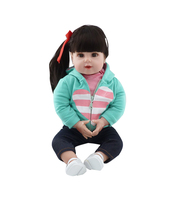 50cm Silicone Reborn Baby Toddler Doll Toy