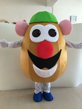 Mr. Potato Head Mascot Costume Vegetable Eggplant Mascot Costume Adult Fancy Dress Cartoon Carnival Outfits Free Shipping 2017 good water solubility factory supply eggplant powder eggplant extract eggplant extract powder 1kg bag free shipping