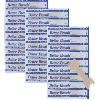 5000pcs/lot 66x19mm Breathe Better Nasal Strips Large Size Nose Patch Breathe Right Stop Snoring Strips for Health Sleeping Aid