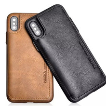 Mobile phone bag Retro Wallet Phone Case for the iPhone case X XS XR XsMax 8 7Plus 6 6S Plus Back Cover For iphone 7