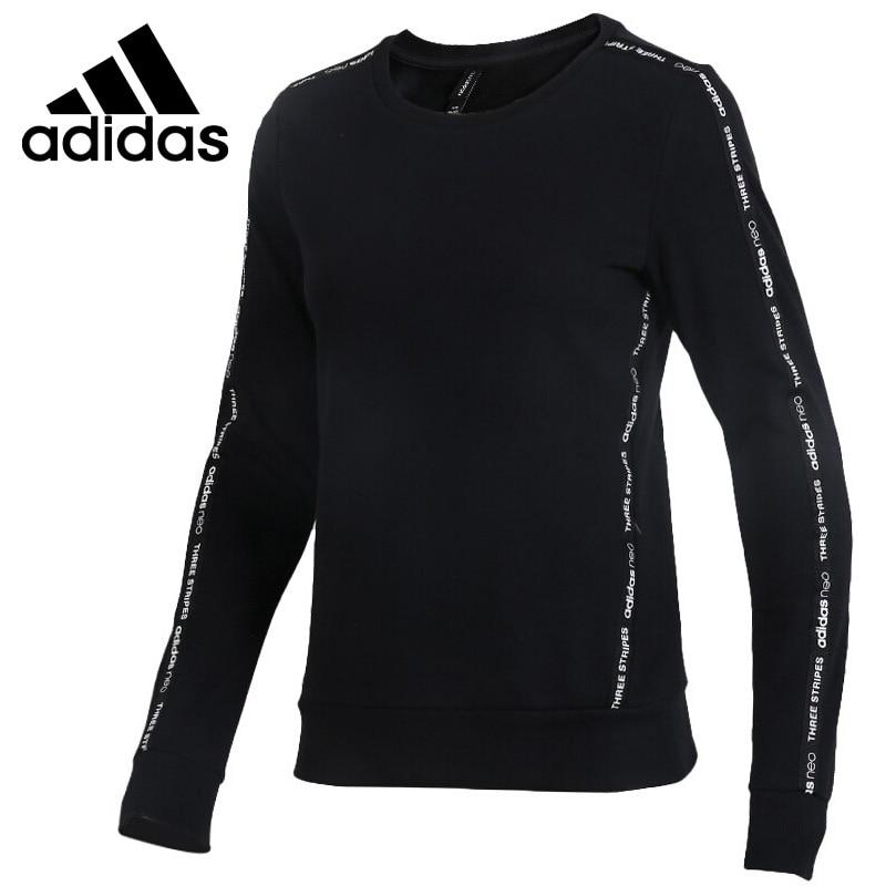 Original New Arrival 2018 Adidas Neo Label W Fav Sweat Women's Pullover Jerseys Sportswear original new arrival 2018 adidas neo label fav tshirt men s t shirts short sleeve sportswear