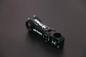 Temani регулируемый угол 0-17-45 углеродный велосипедный стержень дорожный велосипед легкий MTB стержень/углеродный Стержень 31,8*90/100/110/120 мм