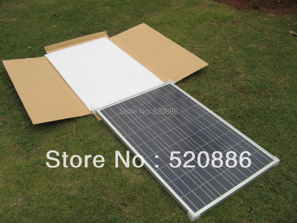 200W 2x 100W 12V Solar Panel RV Solar Cell Panel for Home Car System