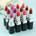 Alta Calidad 12 Colores Diferentes Sexy Belleza brillo de Labios hidratante de Labios Lápiz Labial Mate Impermeable duradera Maquillaje Herramienta
