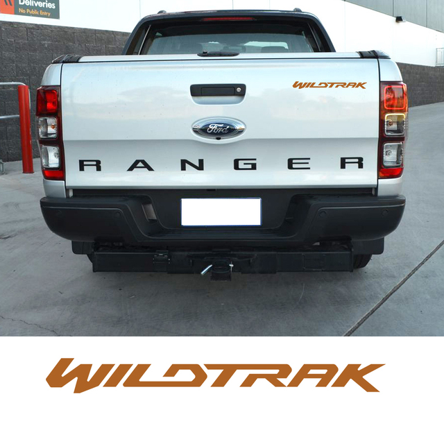 Us 32 1 Stück Wildtrak Grafik Vinyl Aufkleber Für Tür Oder Heckklappe Aufkleber Aufkleber Ford Ranger 2010 In 1 Stück Wildtrak Grafik Vinyl