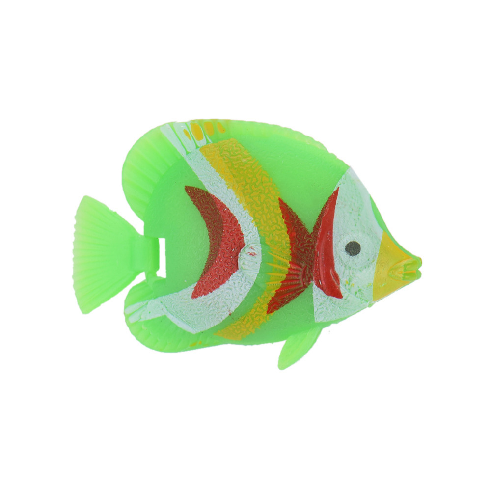10pcs/lot Aquarium Decorations Random Color Plastic Artificial Fish ...