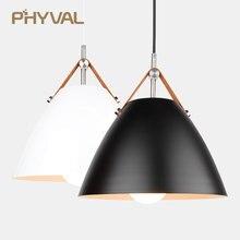 레스토랑 펜 던 트 조명 부엌 펜 던 트 램프 다이닝 룸 LED 빛 북유럽 빛 침실 거실에 대 한 현대 교수형 빛