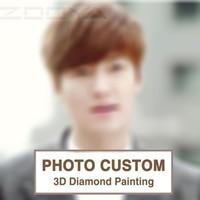 ZOOYA DIY Diamond Embroidery Photo Custom 5D Private Custom Diamond Painting Cross Stitch 3D Diamond Mosaic