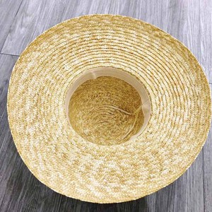 Image 5 - Wide Brim Women Sun Hat Wheat Straw Summer Beach Hat Elegant Cap UV Protection Black long Ribbon Bow Derby Travel Hats