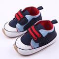 Hot Selling Hard Rubber Sole Anti-slip Prewalker Baby Boy First Step Toddler Shoes 0-15 Months