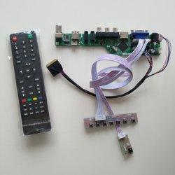 """Zestaw do LP133WH2 (TL) (L3)/(TL) (L4) 40pin 1366X768 13.3 """"PANEL LCD VGA HDMI RF kontroler dźwięku USB pokładzie TV LED AV w Części do naprawy laptopów od Komputer i biuro na"""