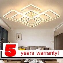 Modern acrylic LED ceiling light Overlapping frames