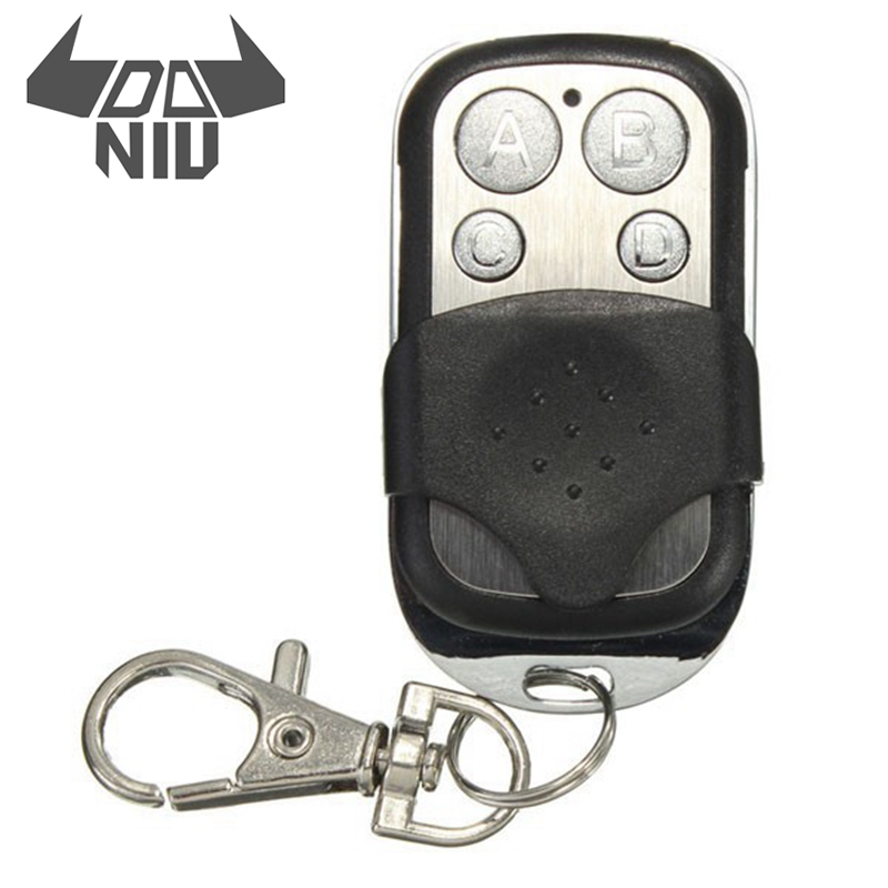 New Arrival DANIU 433mhz Electric Cloning Universal Gate Garage Door Remote Control Fob Key Fob for Security Protection Alarm universal cloning cloner 433mhz electric gate garage door remote control key fob