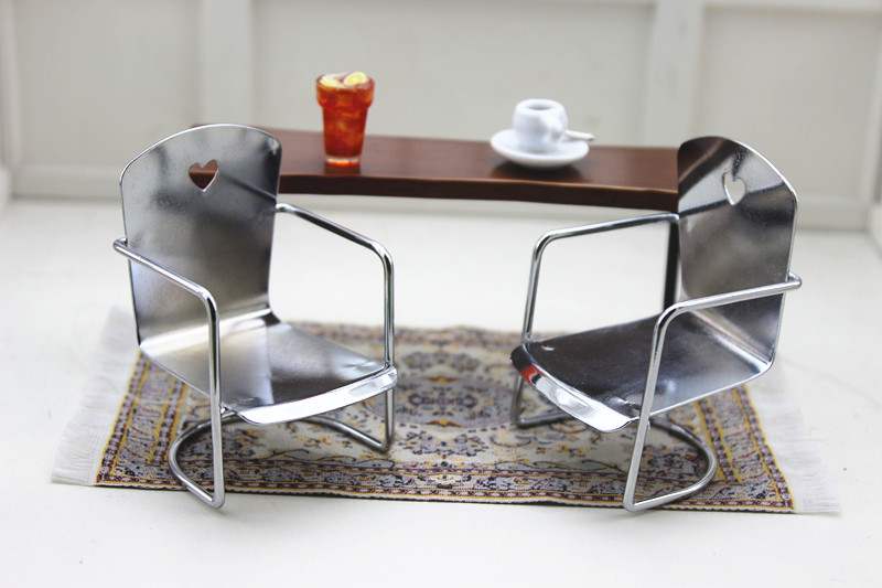 Swell Us 2 99 20 Off 1 12 Dollhouse Miniature Genuine Bulks Mini Iron Office Lounge Chair Furniture Toy Match For Forest Animal Collectible Gift In Creativecarmelina Interior Chair Design Creativecarmelinacom