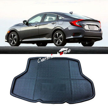 Car Rear Boot Cargo Trunk Mat Pad For Honda Civic 10th Gen 4dr Sedan 2016 2017