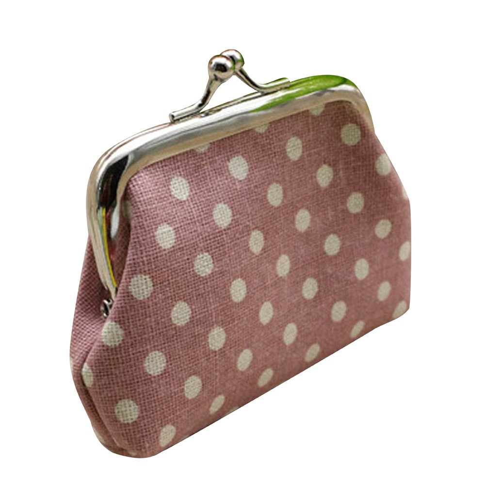 New arrival ladies wallet hasp woman wallet hasp coin Womens Wallets Small mini Dot Wallet Card Holder Coin Purse Clutch Bag 15 mara s dream new arrival small dot zero printed girl s coin purses wallet bag pouch brand lady mini wallet with metal buckle