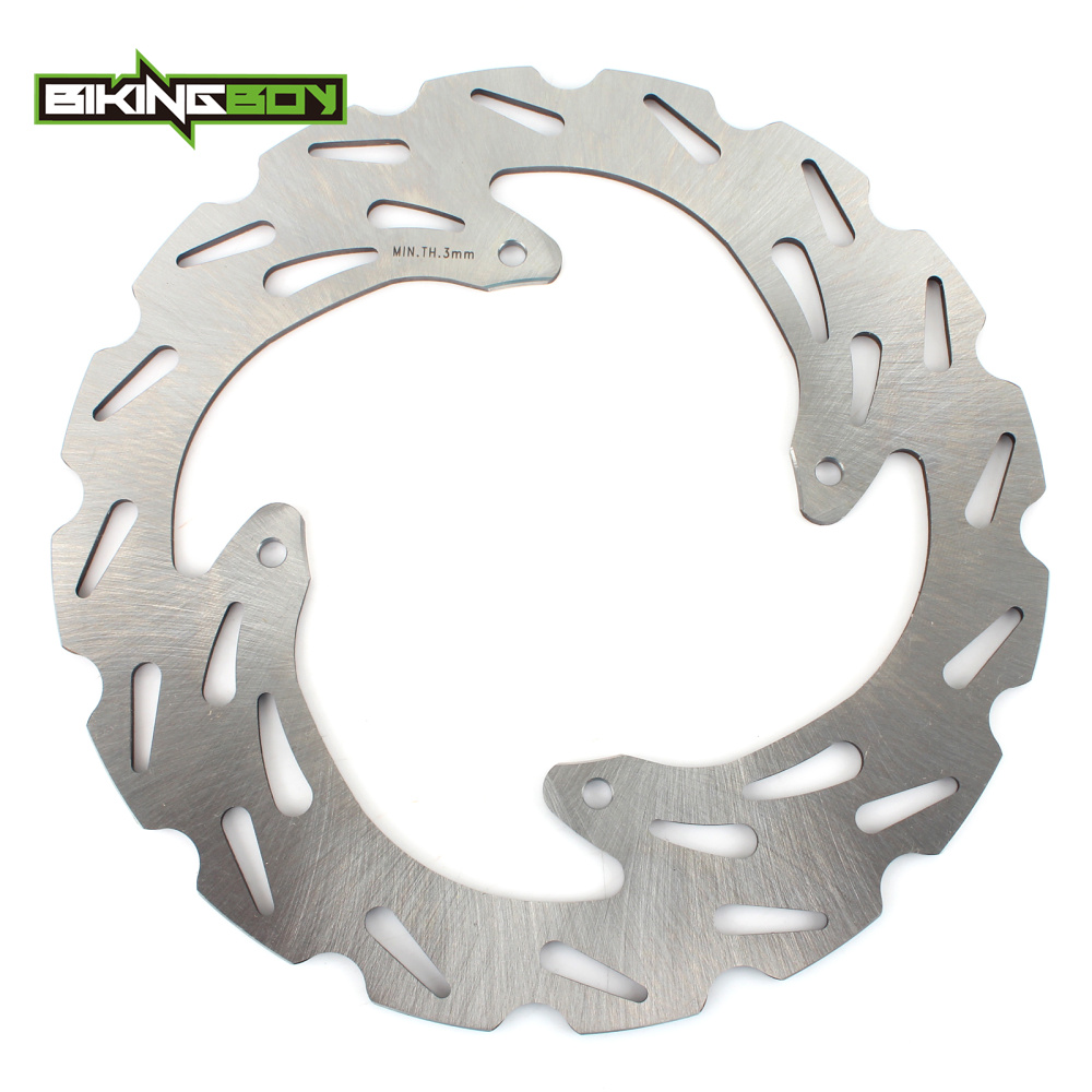 BIKINGBOY MX Motocross Rear Brake Disc Disk Rotor for APRILIA MX125 PEGASO125 RS125 PEGASO 125 600 650 89-2007 06 05 04 03 02 01 1 piece lh left side front driving lamp bumper fog light with cover for mazda 3 2003 2005