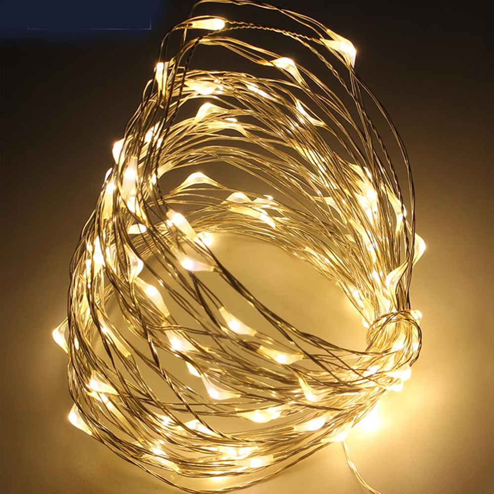 5M USB led garland fairy light String Light Wire Waterproof christmas lights outdoor led lights decoration led lights DA Pakistan
