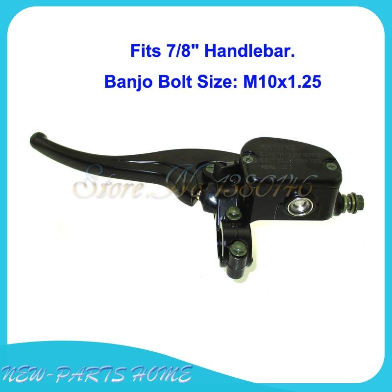 Front Left Brake Master Cylinder Fits 2008-2013 Polaris Trail Blazer 330