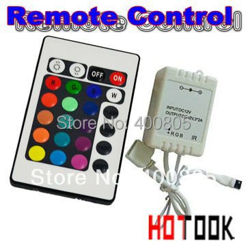 LED RGB Controller 12V 6A IR mini wreless Remote Control for 3528 5050 LED Strip Lights warranty 2 years CE RoHS  x 10PCS
