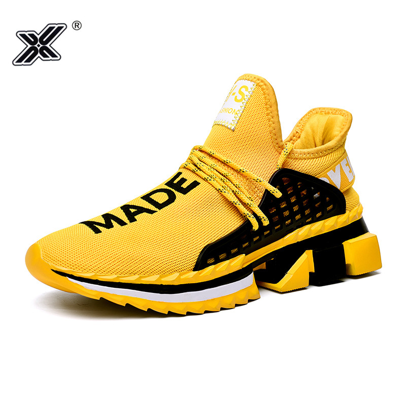 Man Casual Shoes 2019 Summer Fashion And Breathable Lace Up Air Mesh Men Sneakers Shoes Zapatillas Hombre Casual Trampki Meskie