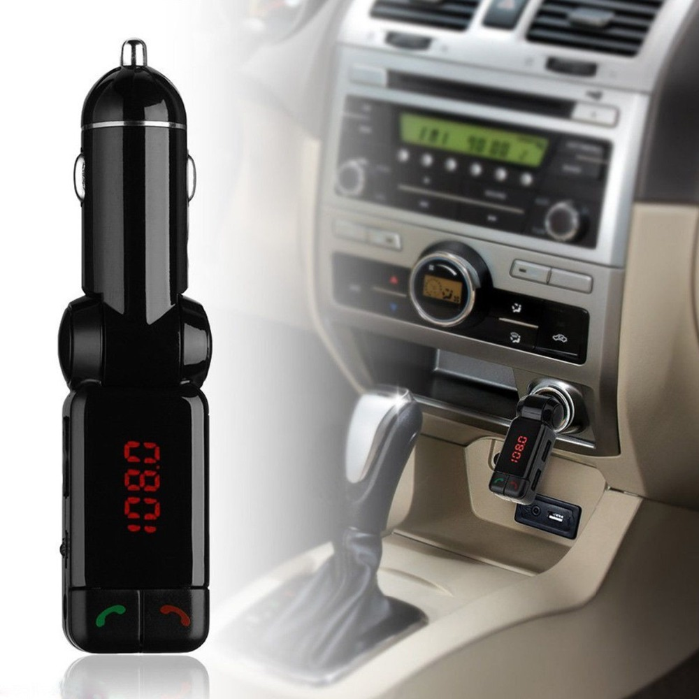 new car mp3 audio player fm transmitter bluetooth wireless. Black Bedroom Furniture Sets. Home Design Ideas