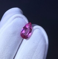 AGL certification 1.06ct no Indication Of Thermal Enhancement Natural unheated Waterdrop Pink Sapphire Stone Loose Gemstones