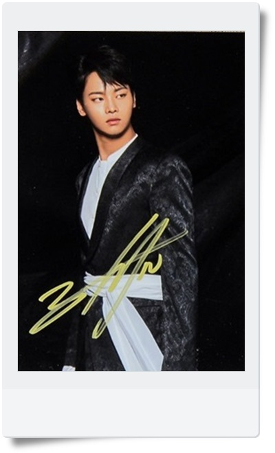signed VIXX N autographed MINI 4th album original photo 6 inches freeshipping 062017